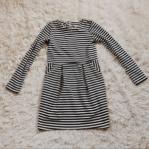 H&M • stripped dress •8-10Y